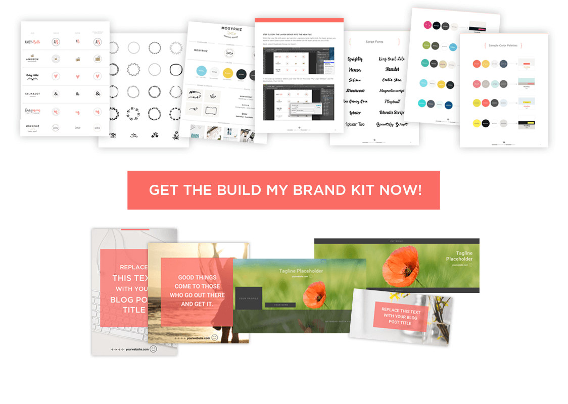 The Build My Brand Tool Kit gives you everything you need to brand yourself like a pro! Click here to learn more.