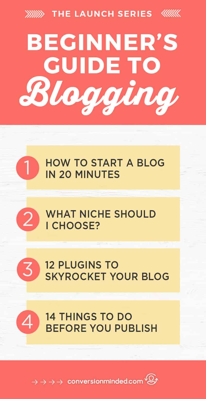 Beginner's Guide to Blogging: Here's how to use WordPress to create a site. You can do it in just 20 minutes!