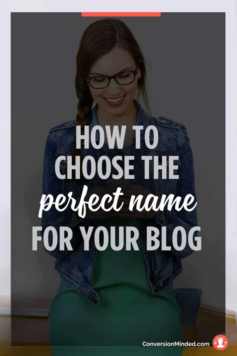 How to Find the Perfect Name for Your Blog or Business | If you're stumped with what to name your blog or business, this post is for you! It includes 7 easy steps to help you choose a name you'll love for years to come. Click through to see the steps!