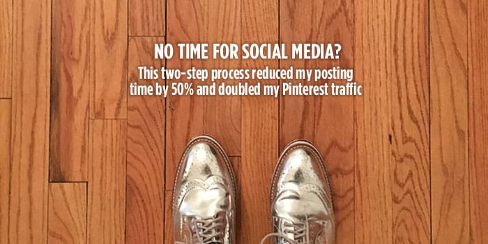 No time for social media? Here's how you can use Tailwind's board lists and interval delay features to get a massive boost in Pinterest traffic and cut your time down in half. Click through to see the steps!