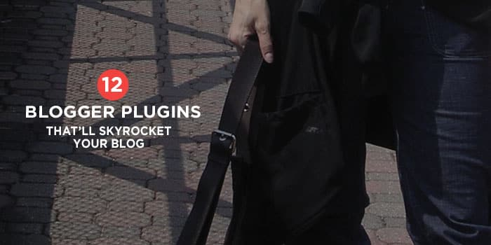 12 Blogger Plugins That Will Skyrocket Your Blog | Here's a list of plugins I use on my blog and what I use them for. I'm hoping that a few of them will be useful for you too! Click through to see all the plugins!