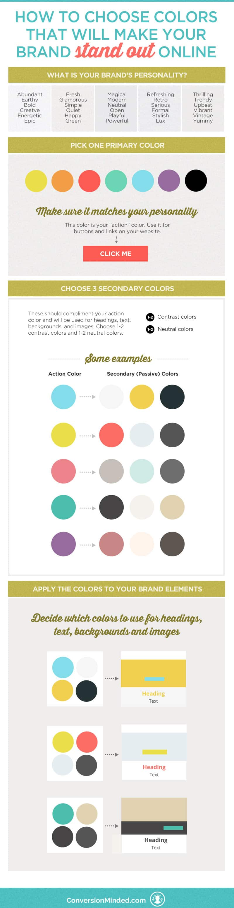 How to Choose Colors That Will Make Your Brand Stand Out | Do you love creating mood boards and collecting colors, but then find yourself a bit stumped with how to apply them to your brand? This post will help! It includes tips for entrepreneurs and biz owners to help you select and apply your brand colors, with purpose and intention. Click through to see all the color tips!!