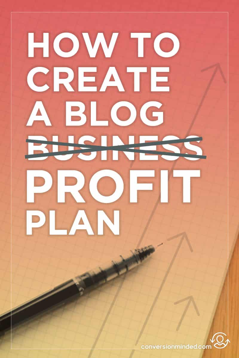 How to Create an Epic Blog Business Plan (Part 1 of the Blog Profit Plan). This post shows bloggers and entrepreneurs how to create a business plan that will help you create a full-time living from your blog. Click through to see the sections!
