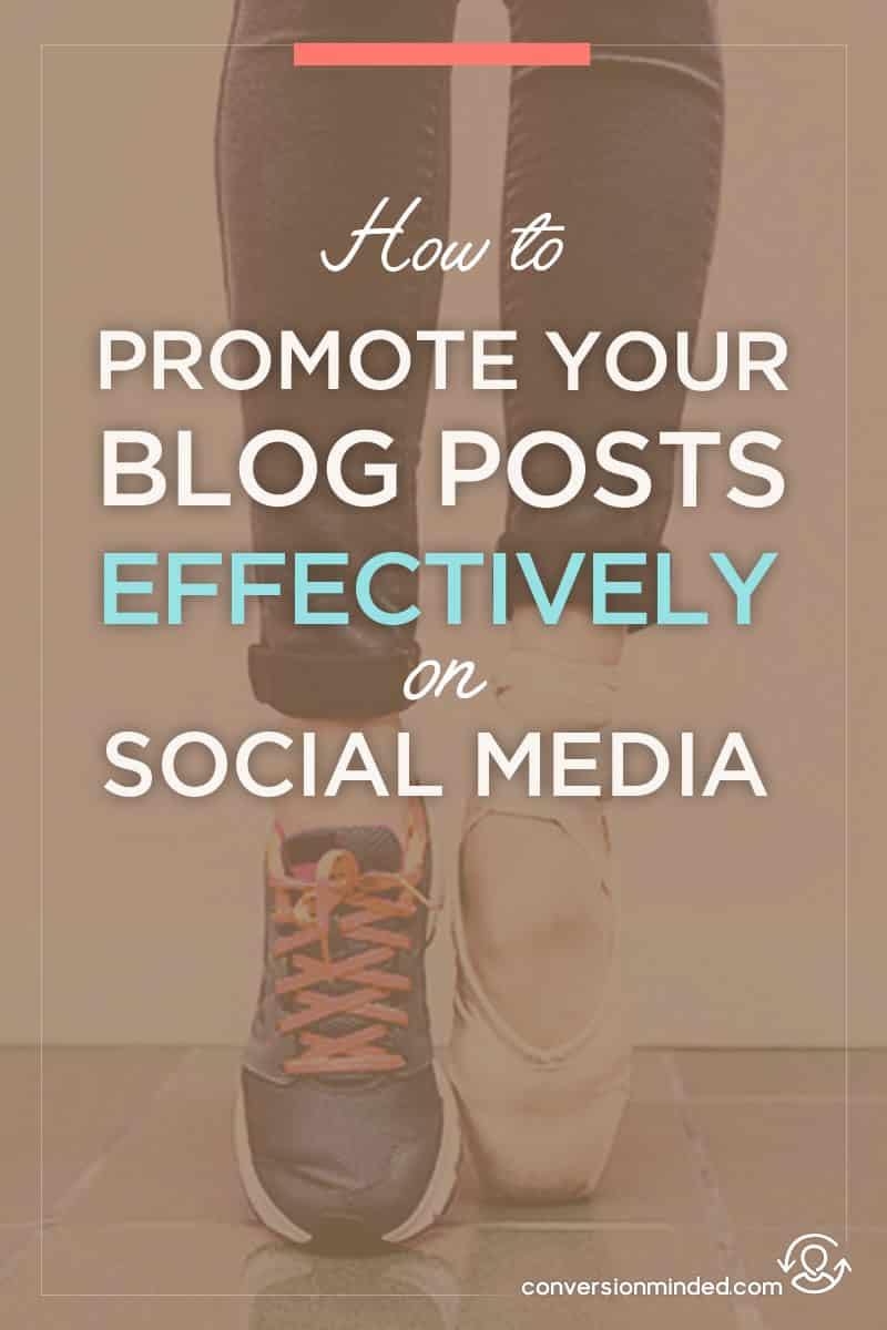How to Market Your Blog Effectively on Social Media | Wondering how to share your blog posts on social media the right way, so you get right in front of your target audience? This blog promotion plan for entrepreneurs and bloggers will help you get incredible amounts of social media traffic. Click through to get started!