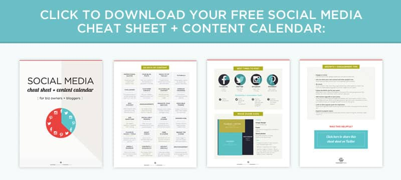 A social media cheat sheet for content marketing so you know what to post and when, plus tools to help you automate everything from scheduling, to growth and engagement, and creating images.