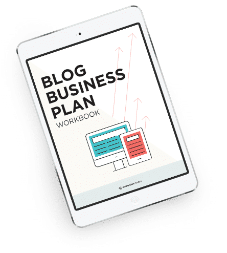 The Epic Blog Business Plan Workbook to help you turn your blog into a business fast!