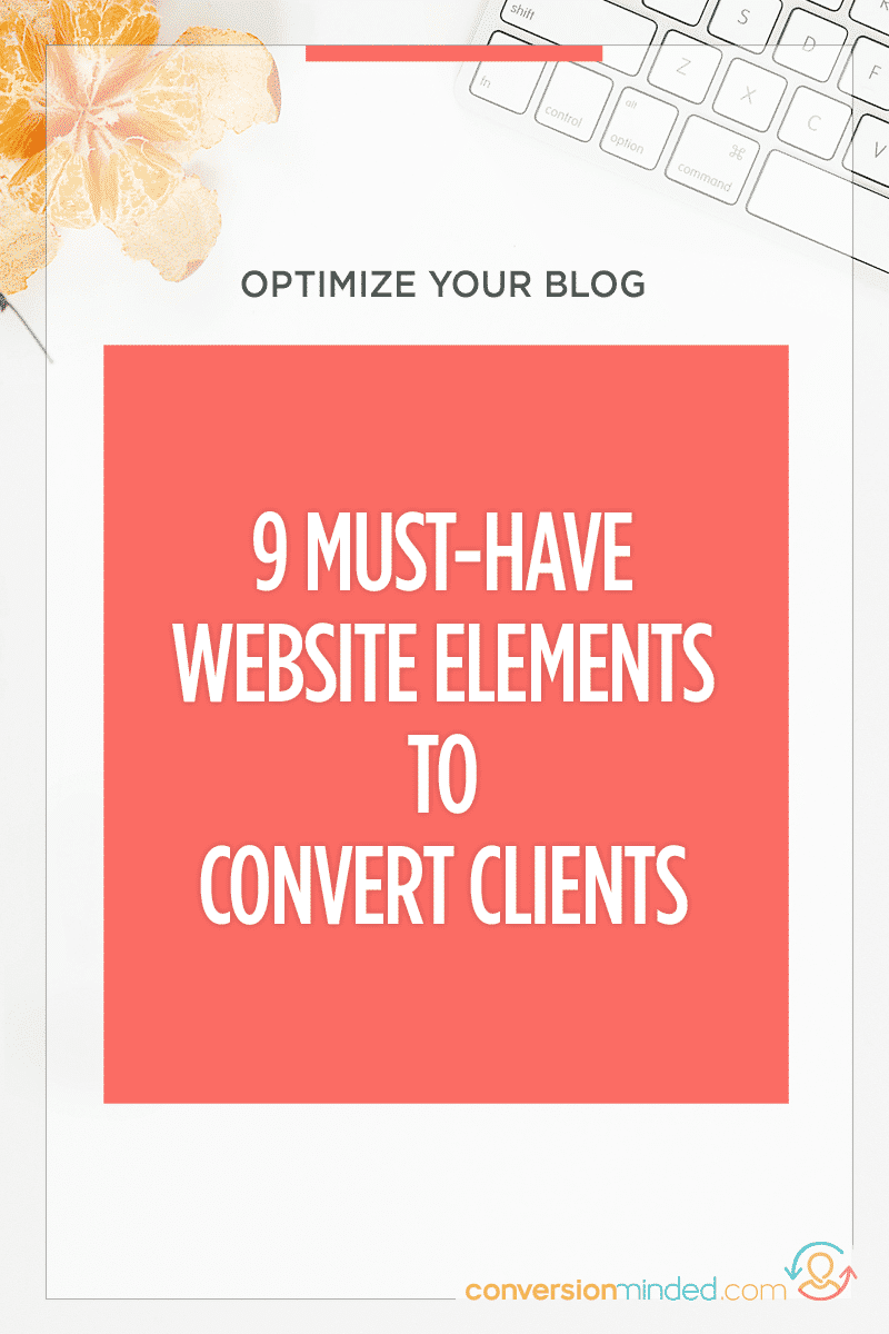 9 Website Optimization Tips to Convert Customers | Ever feel like your website should be working harder for you? This post is for you! It includes 9 elements every blogger and entrepreneur must have on their website to generate leads and sales 24/7, even while you sleep. Click through to see all the high-converting elements!