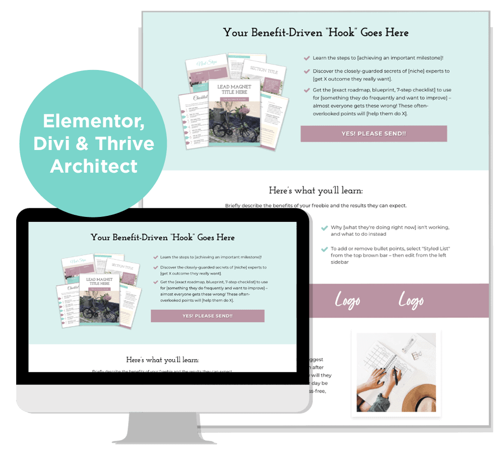 Lavender Fields landing page template