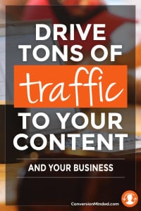 how to drive tons of traffic to your blog