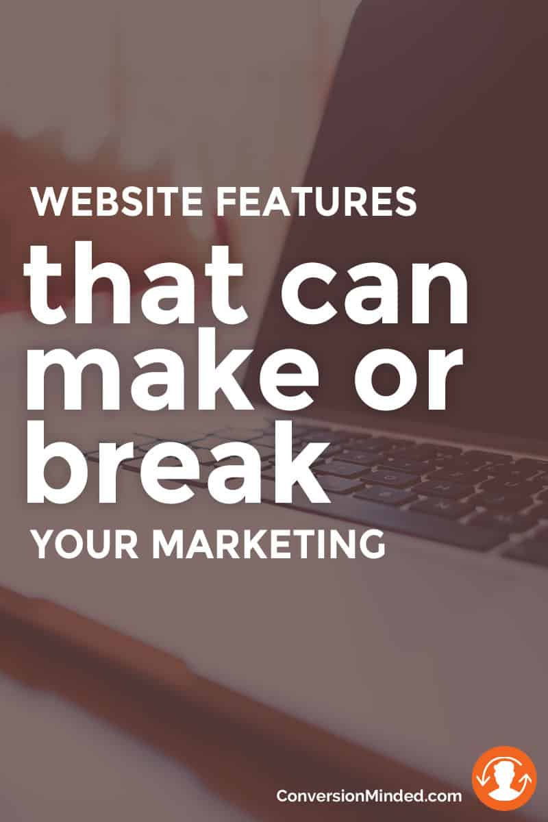 Check out these website features that will help you turn your blogging, web copy, and offers into a cohesive marketing system that works for your business.