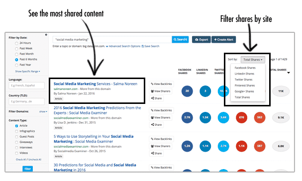 BuzzSumo-dashboard-content-research