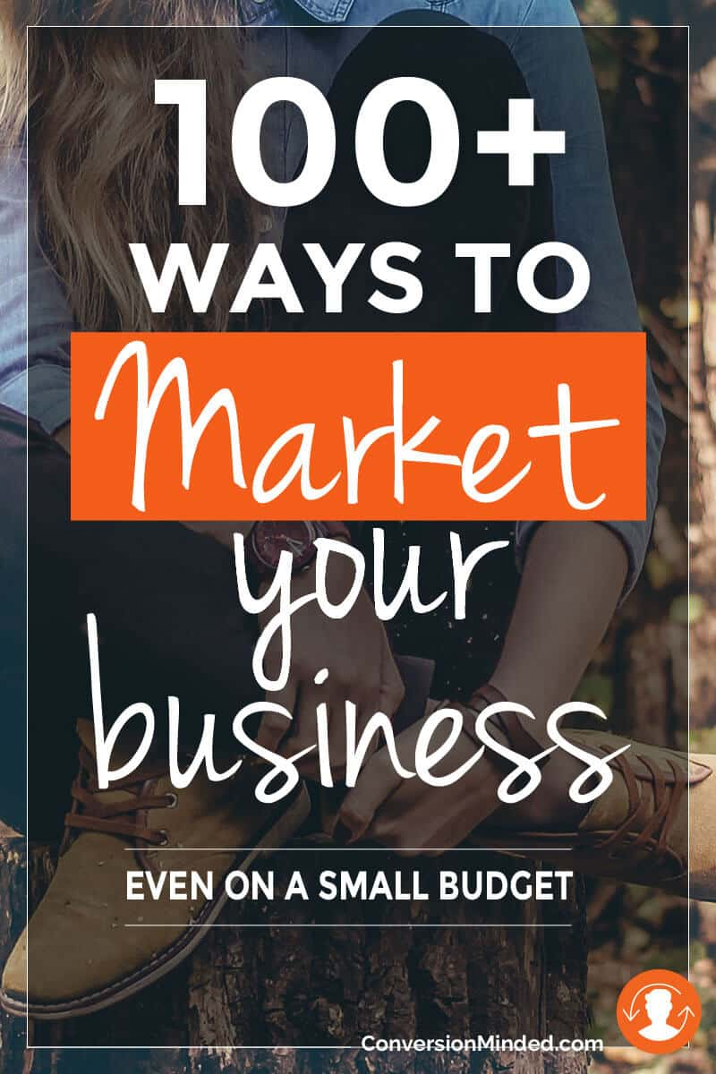 100+ Ways to Market Your Online Business, Even On a Small Budget | Looking for new ways to market your small business? Whether you're just getting started or have been in business for a while, these tips are for you! I've grouped them in 2 sections: for when you're starting out and when you're ready to take it to the next level. Either way, there's something in here for every entrepreneur and business owner to help build your brand and get more customers. Some are new, some you've tried, and others may not feel right for you and that's okay. With so many ways to market your business, just pick one or two, test them out and tweak as you go. Click through for all the ways!
