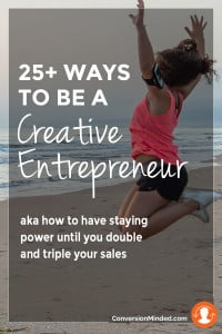 how to be a successful creative entrepreneur