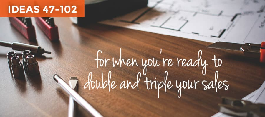 Next, use these ways to market your online business and double sales!