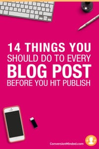 If you're ready to get serious about your blog, but aren't sure about the best ways take to market it, this post is for you! It includes 14 tips for bloggers and entrepreneurs to help your posts get found and shared by more people everywhere – through social media, emails, search engines…everywhere. Click through to check out all the tips.