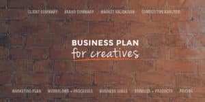 Creative entrepreneurs can rock your business by getting all your ideas down on paper and in one place. It doesn't have to be fancy or elaborate, just a simple road map for where your business is going so you know what to do and WHEN to get there faster. Click through for a blog business plan pdf.