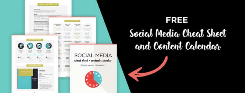 A social media cheat sheet for biz owners and bloggers so you know what to post and when, plus tools to help you automate everything from scheduling, to growth and engagement, and creating images. Click through to see all the tips!
