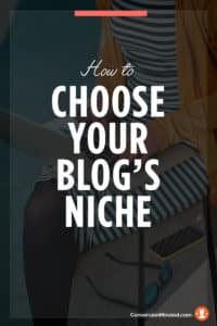 How to Chose Your Blog's Niche + Focus | These tips for choosing your blog's niche will help you gain clarity on what inspires you, define your target audience, and approach your blog like a biz!