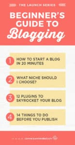 Beginner's Guide to Blogging: Here' show to use WordPress to create a site. You can do it in just 20 minutes!