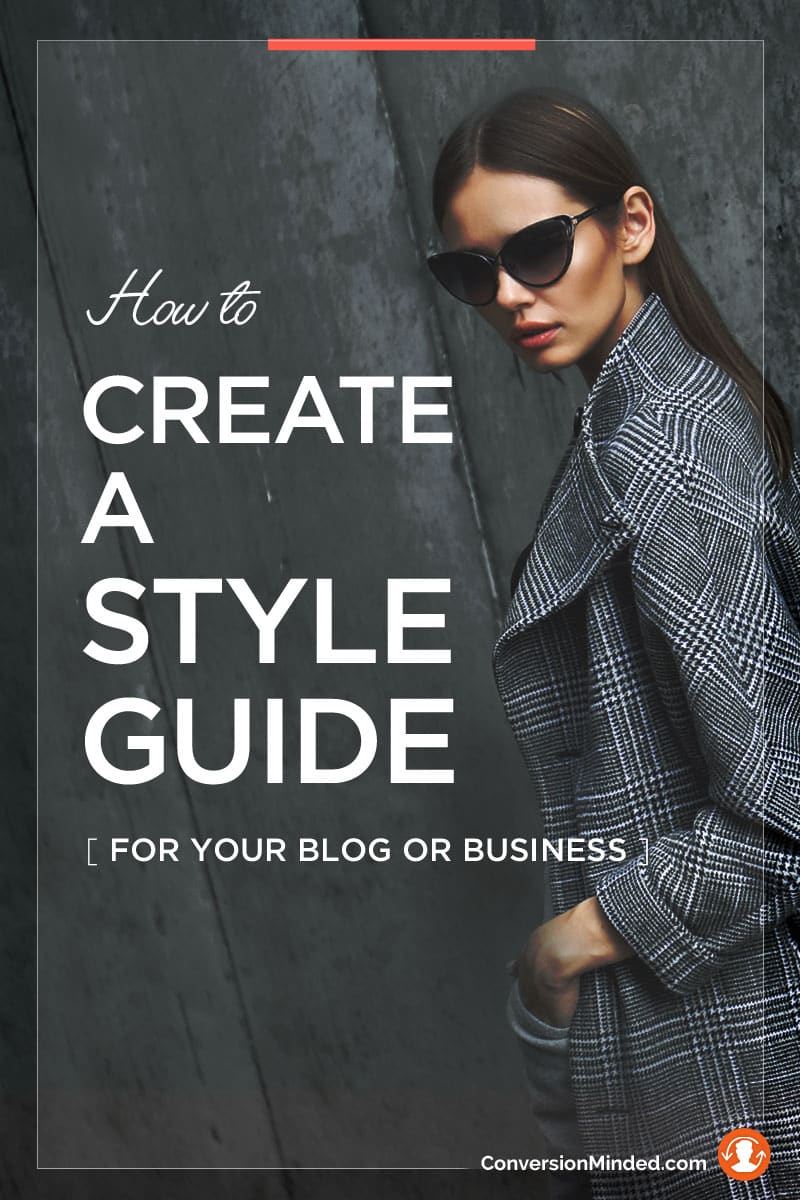 How to Create a Brand Style Guide for Your Blog or Business | A style guide for your blog will help you be consistent, cohesive and harmonious with all of your important elements, plus save you time because you won't have to stop and think about how to design your Instagram image or how to format your next blog post.