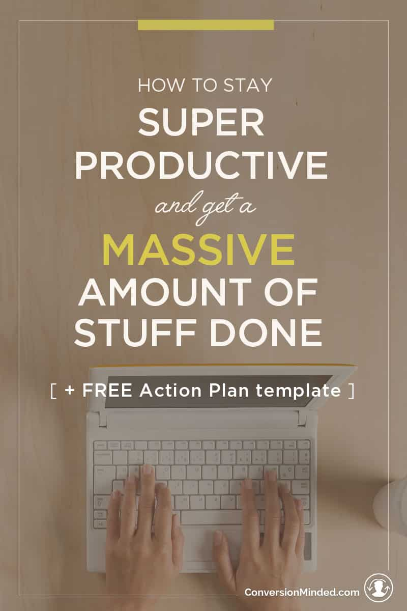 "Ready to turn your to-do list into a Get-It-Done Action Plan? This post will help! It's a simple guide for entrepreneurs and business owners to help you prioritize goals and identify specific tasks to achieve them. It also includes my secret ""increase productivity"" weapon – the Time Blocking Template. Use it to create a visual calendar so you know exactly what to do to each week. Click through to see the whole guide!"