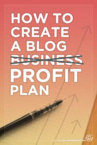 How to Create an Epic Blog Business Plan (Part 1 of the Blog Profit Plan). This post includes the sections of a blog business plan for bloggers and entrepreneurs to help you turn your blog into a full-time biz and income. Click through to see the sections!
