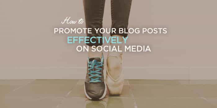 How to Promote Your Blog Effectively | Wondering how to share your blog posts on social media the right way, so you get right in front of your target audience? This blog promotion plan for entrepreneurs and bloggers will help you get incredible amounts of social media traffic. Click through to get started!