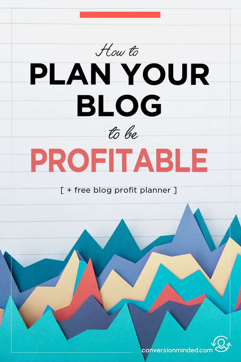 How to Make Money With A Blog | This is part 2 of the Blog Profit Plan Series for bloggers and entrepreneurs who are ready to make money with your blog. Time to create an action plan so you can reach your goals! Click through to see all the steps!