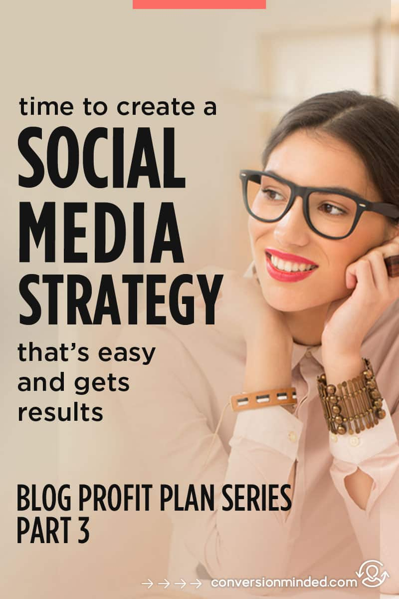 How to Create a Social Media Strategy | This post will help bloggers, entrepreneurs, and small businesses create a social media strategy plan that gets results. It even includes a social media marketing strategy template. #socialmediatips #socialmedia
