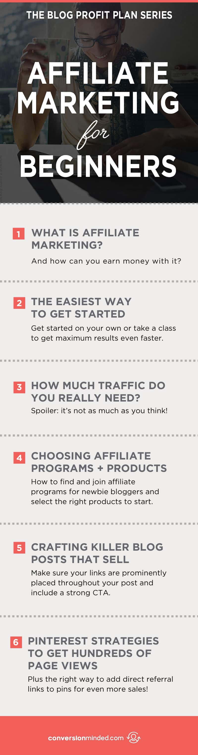 How to Make Money from Affiliate Marketing | Have you been wanting to try affiliate marketing for your blog, but wonder if it's just too hard or maybe even a waste of time? This post is for you! I'm sharing everything I've learned from the Making Sense of Affiliate Marketing Course to help entrepreneurs and bloggers get started with ease! Click through to see all the course highlights!