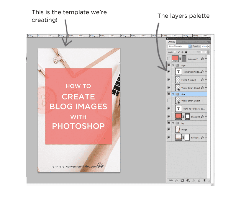 Graphics Tutorial: The Photoshop Layers Palette
