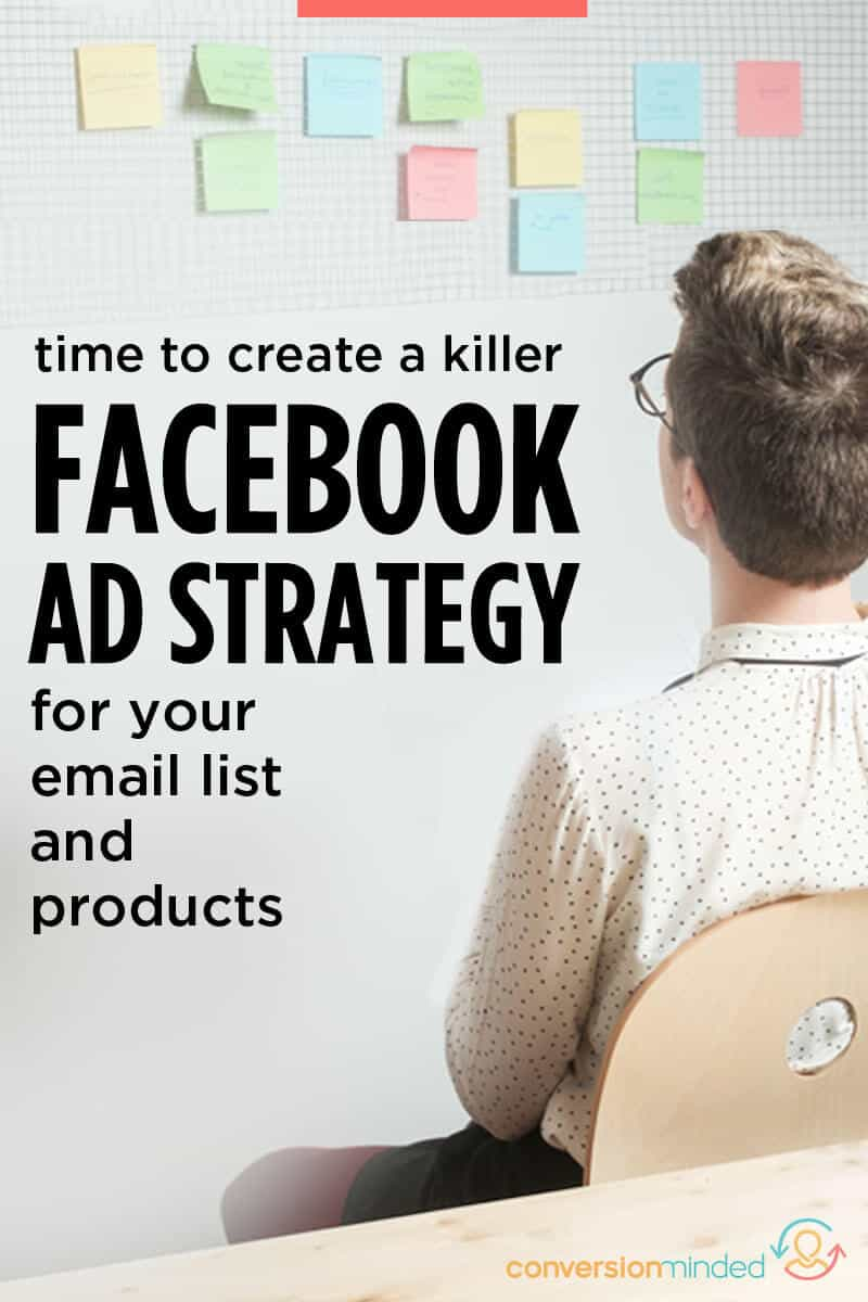 Want to sell more products AND grow your list at the same time? I've got a Facebook ad strategy for bloggers and entrepreneurs that leverages sales funnels. Time to put rocket fuel on your list and product sales using other people's money to pay for ads. Woo!