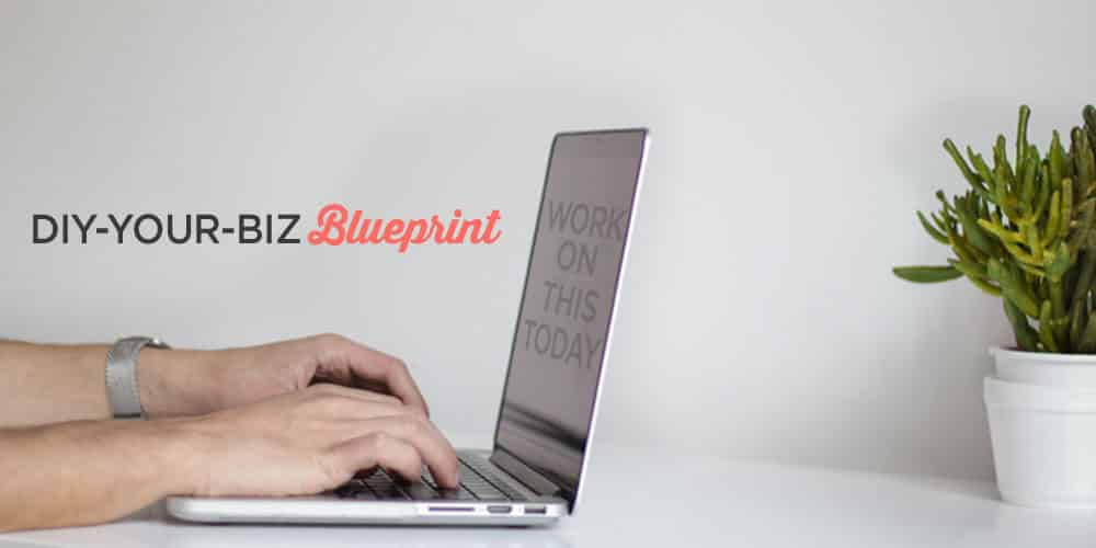 What should i be working on right now the diy your biz blueprint if you want to start and grow your blog but youre a little online business blueprint malvernweather Gallery