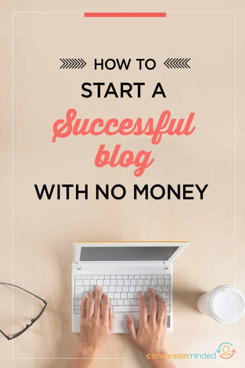 Here's how you can start a successful blog for FREE! Click through to get started! blogging for beginners, become a blogger, blogging tips