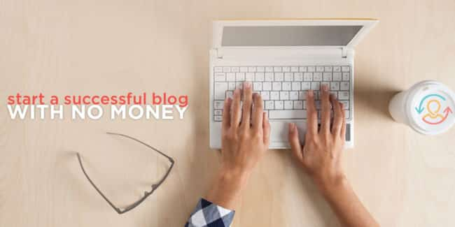 Wondering how to start a successful blog for free? I break it all down for your here!