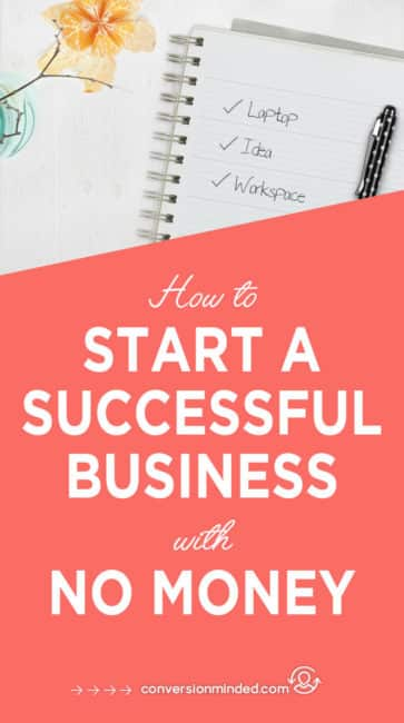 A step-by-step guide and checklist for how to start an online business with no money. It includes my best tips for how to turn your ideas into a side hustle, make money blogging, and make money from home. #bloggingtips #startup #blogger