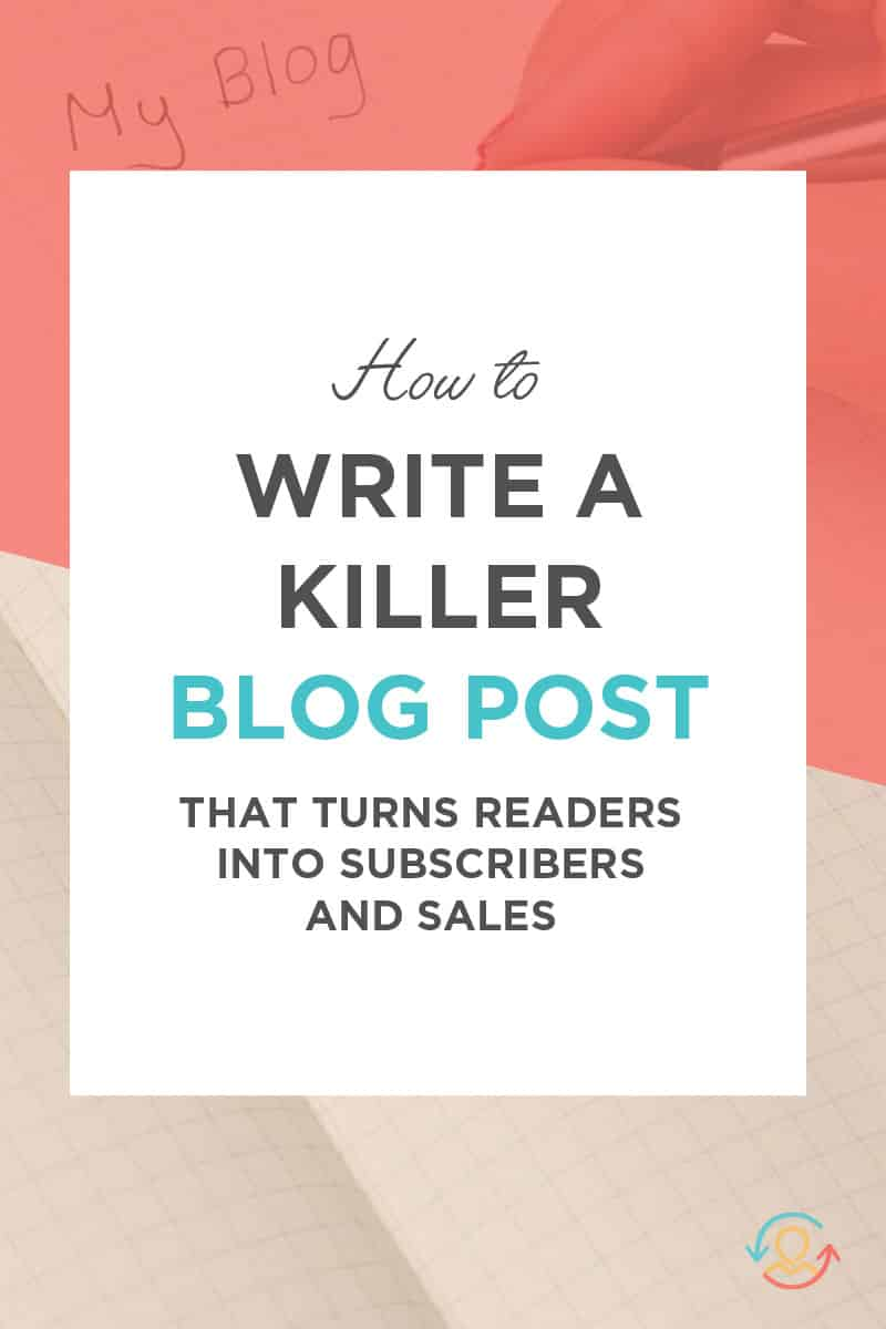 How to Write a Blog Post that Sells
