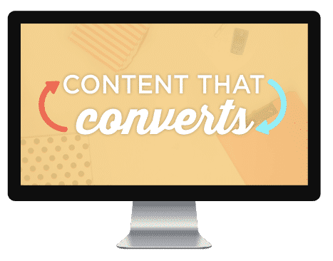 Content that Converts Course | ConversionMinded