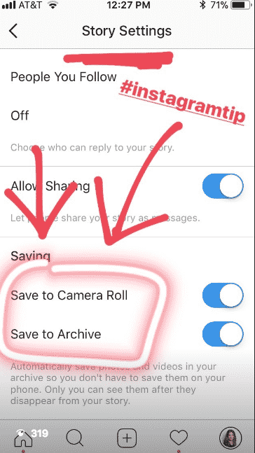 Create an Instagram Story about your Facebook group.