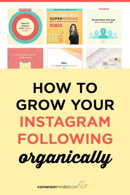 Want to know how to grow your Instagram following in 2018? I've got an easy Instagram tutorial to help you do it, plus my favorite Instagram followers hack to help you drive more traffic to your website and learn how to use Instagram for business.