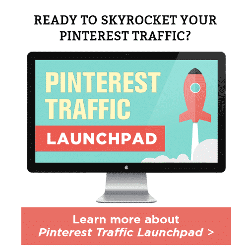 Click here to learn more about The Pinterest Traffic Launchpad