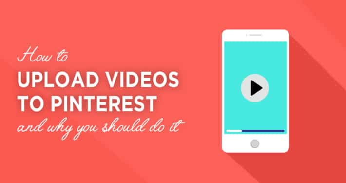 Upload videos to Pinterest