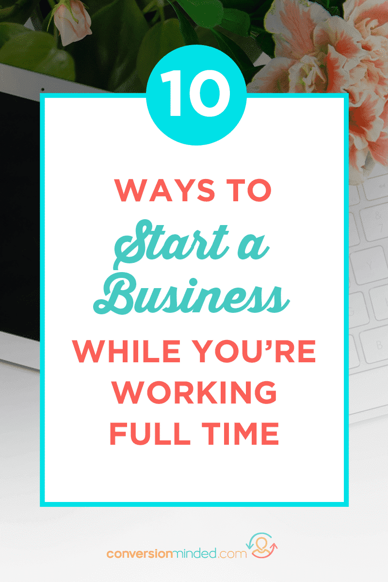 Wondering how to start a business while working full time? I've got 9 side hustle ideas to help you make money online as quickly as possible.