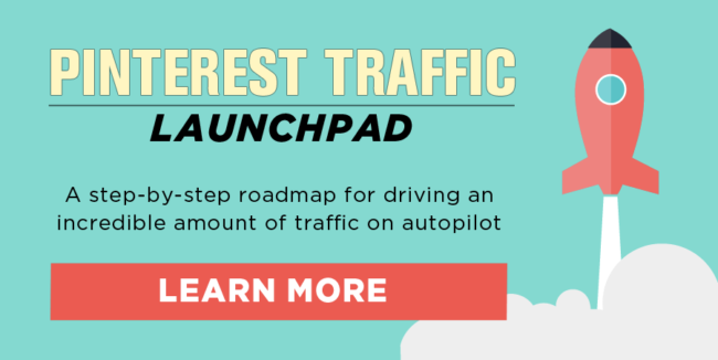 The Pinterest Traffic Launchpad