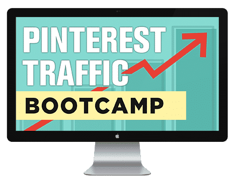 Pinterest Traffic Bootcamp by Sandra at ConversionMinded