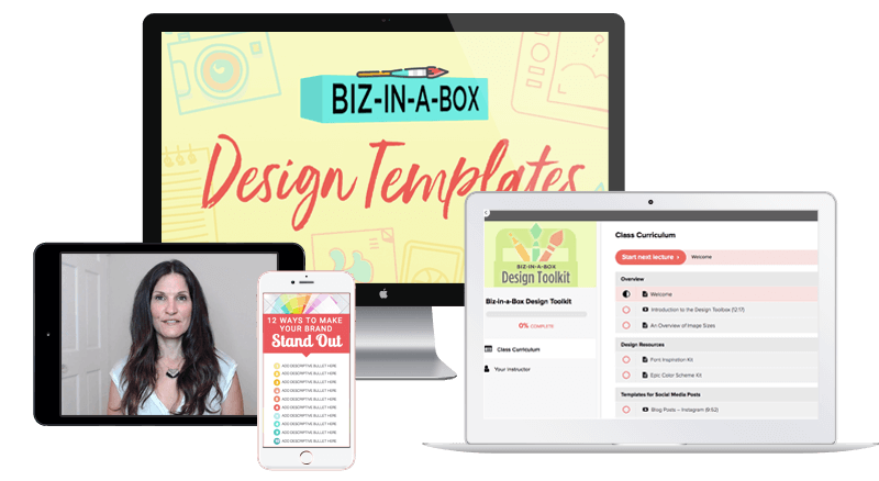 Biz in a Box Design Template by ConversionMinded