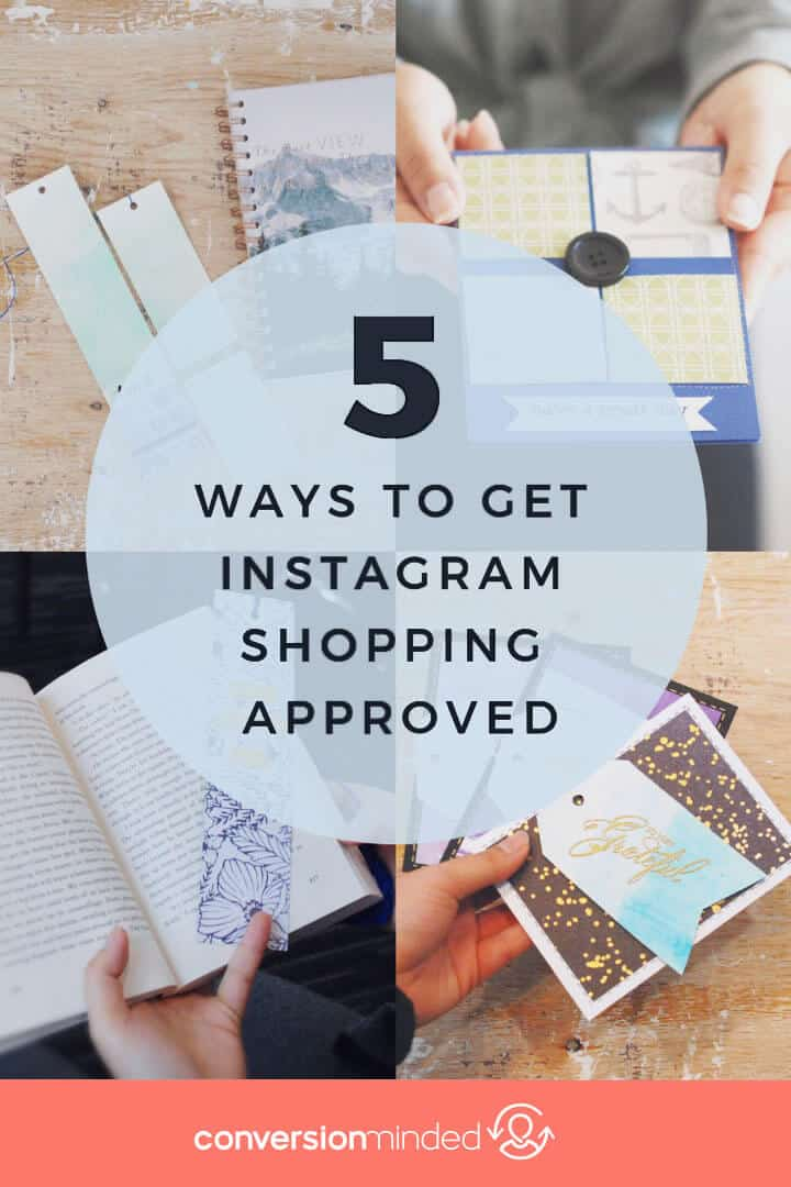 5 Easy Ways to Set Up Instagram Shoppable Posts | Want to sell more products? Want people to be able to buy them right from Instagram, without having to go to your website? This post is for you! It includes a simple step by step process for setting up Instagram shopping so you can level up your Instagram marketing and make more money with every post.