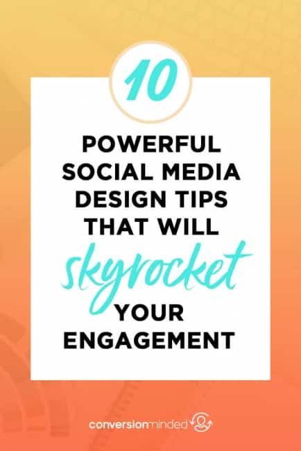 10 Powerful Social Media Design Tips that will Skyrocket your Engagement | Stand out on social media and attract your ideal customers with these graphic design tips and strategies. Super easy to apply, even if you're not a designer! Click through to see all the social media graphics tips!