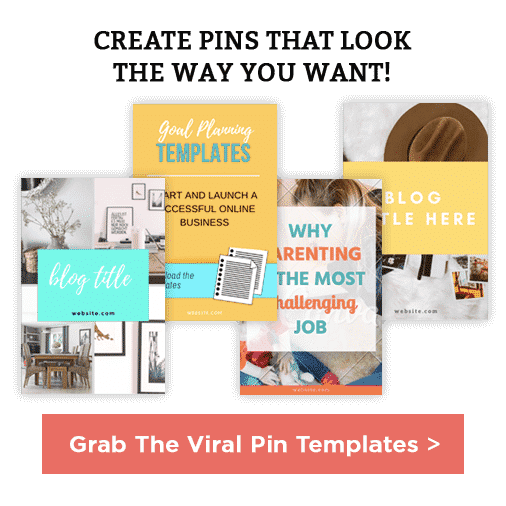 Viral pin templates | viral Pinterest graphics templates