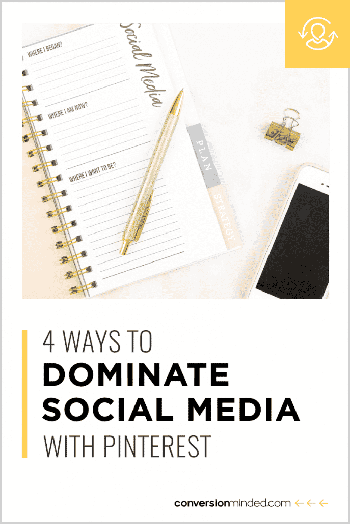 dominate social media with Pinterest